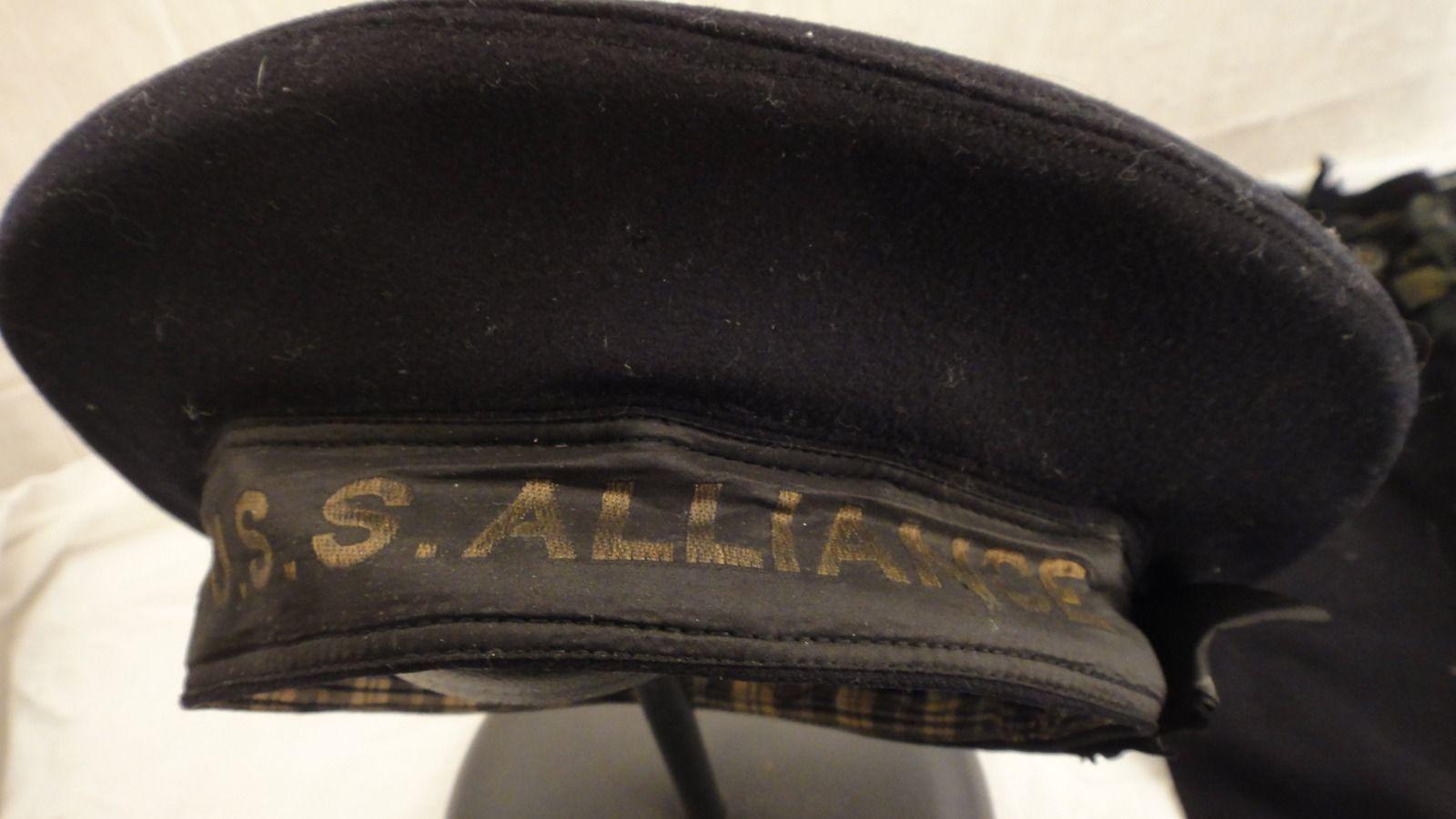 6bcc53a24e0 U.s. Navy flat hats pre ww2 - Page 7