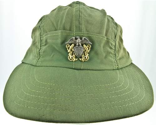 Military Cap from the Movie JAWS?