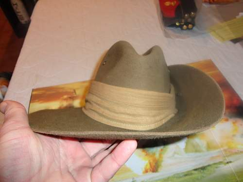 "My ""New"" Aussie Slouch Hat, I think I have  a good one Please comment"