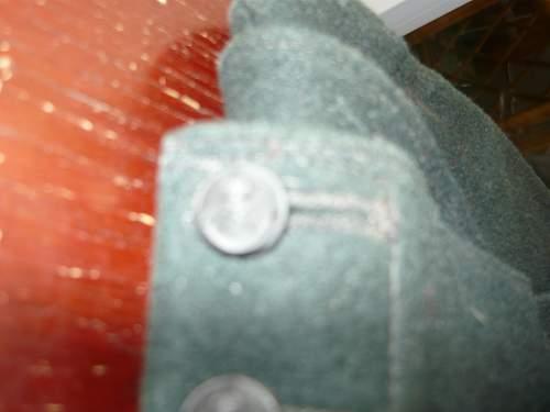 British Rifle Brigade Side cap