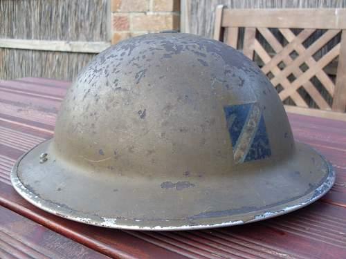 Royal Observer Corps beret.