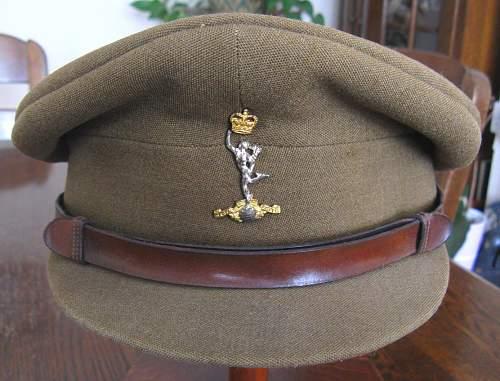 Royal Artillery Service dress cap