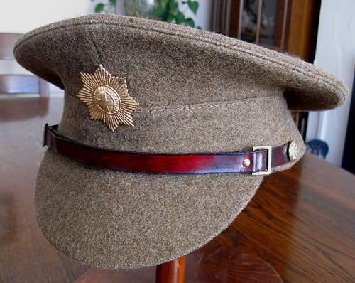 Royal Artillery peaked cap wartime/postwar?