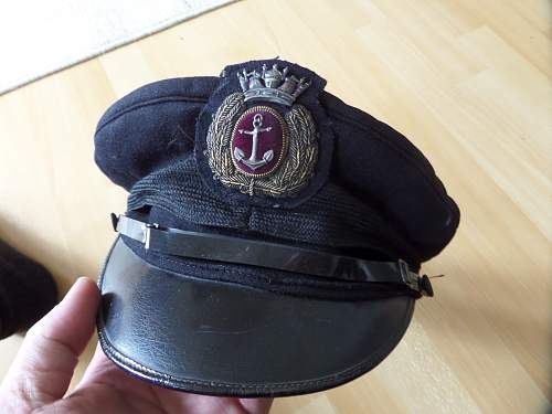 Merchant Navy Officers cap