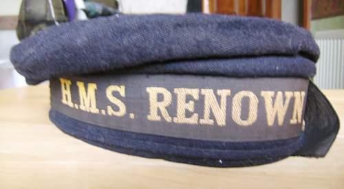 British or US naval cap ???