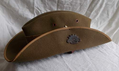 pre or early WWII type Aussie Slouch hat