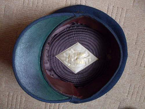WW2 Royal Observer Corps Officers cap