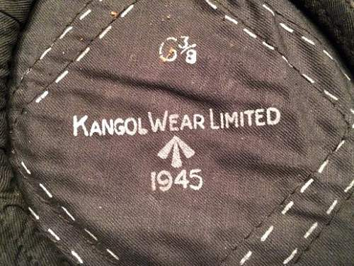 WW2 black beret Original?