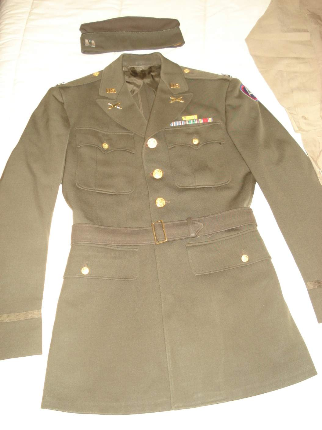 WWII US 3rd ARMY OFFICER'S UNIFORM - What do you think ...
