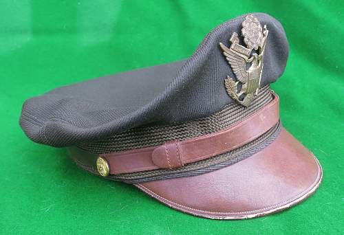 WW2 AAC Bancroft 'Flighter' crusher cap