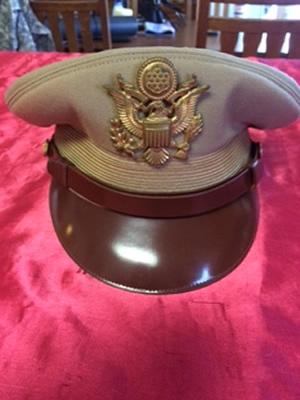 U.S. Officer Visor for opinions