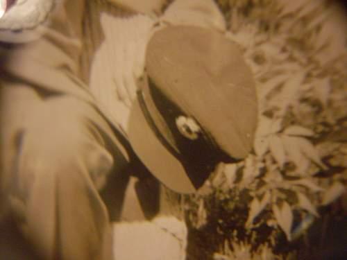 RAF Transport Command cap+album & documents