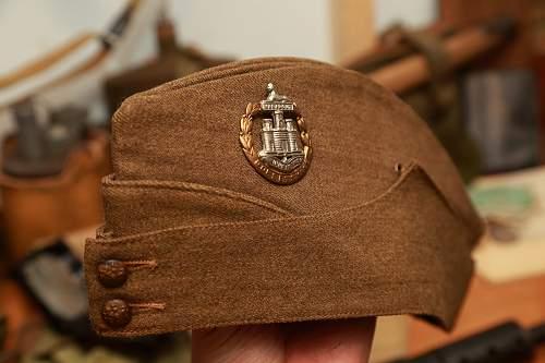 British field service cap