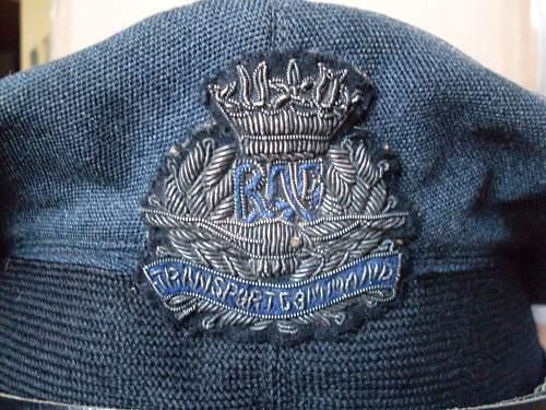 RAF Transport Commnd  Officers cap