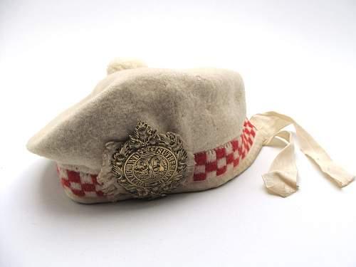 Scottish cap