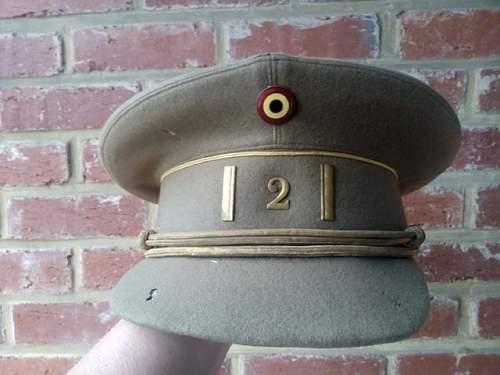 Belgium amry - colonel cap