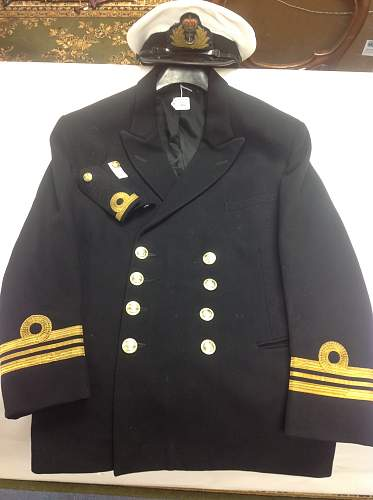Post war RN Officers cap