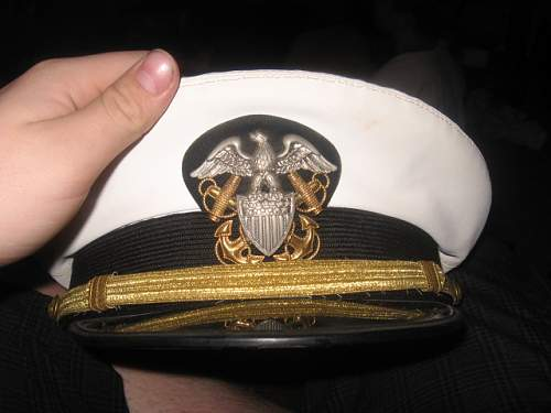 What are these navy caps?