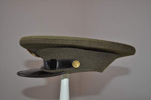 Nominative US Army Enlisted Man Visor Cap