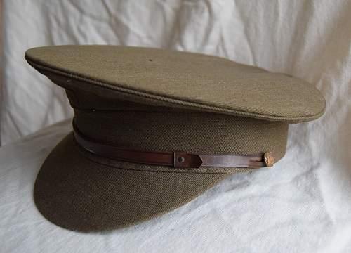 Royal Art'y & other Service Dress caps