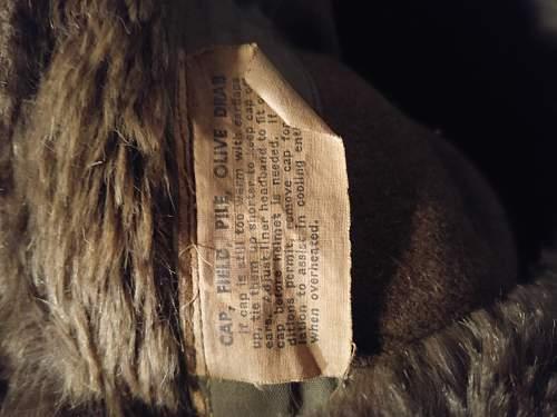 US M43 Winter Cap