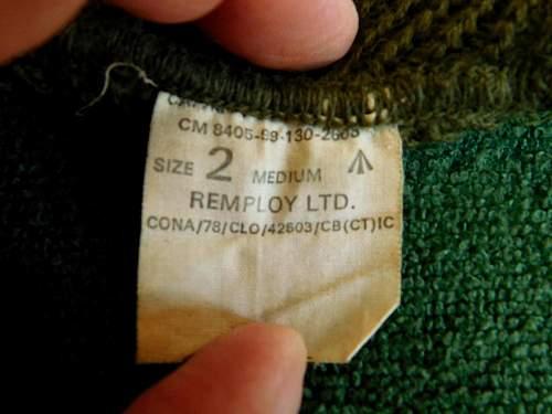 ? British arctic knitted cap
