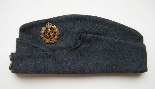 WWII RAF OR's Side cap