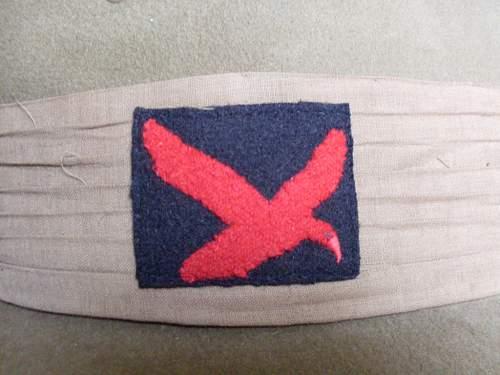 WW2 RA Slouch hat