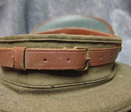 WW2 US Enlisted Visor