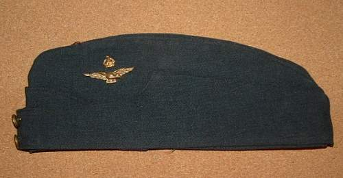 Not Your Average RCAF Officer's Side Cap