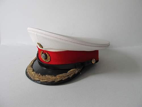 Royal Marines officer's dress cap