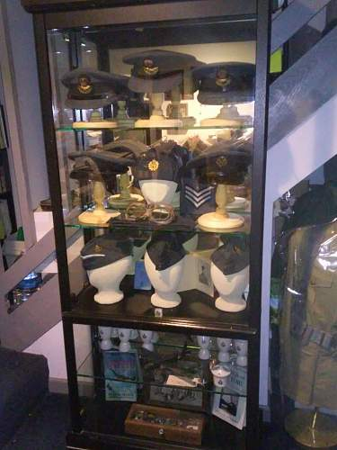My RCAF Headgear Collection