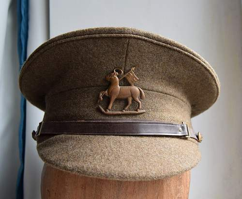 1922 pattern OR's Sd cap Queens Royal Regiment