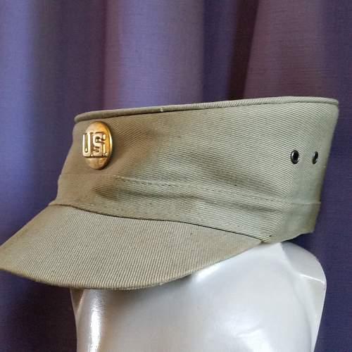 Large Lot of vintage US hats - Cadets? Child Toys?