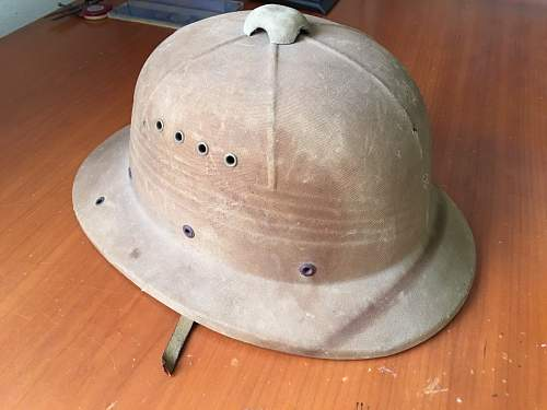 Pith helmet from South Africa