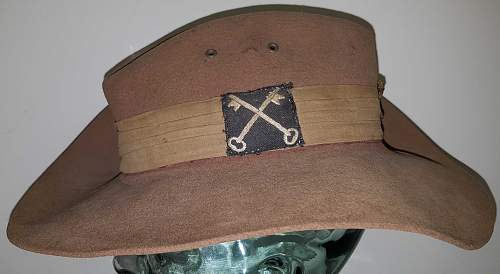 14th Army/2nd British Division Brigadiers slouch hat
