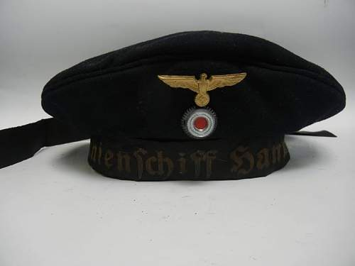 kriegsmarine cap by Hugo Poppe, original but from what year?