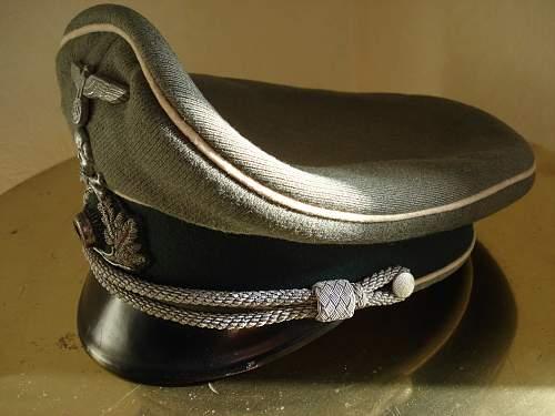 Erel IR 17 officer visor cap