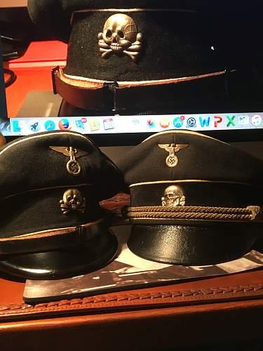 SS visor black for review