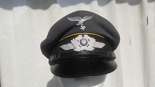 Click image for larger version.  Name:Luftwaffe Schirmmütze (1).jpg Views:71 Size:223.2 KB ID:1023419