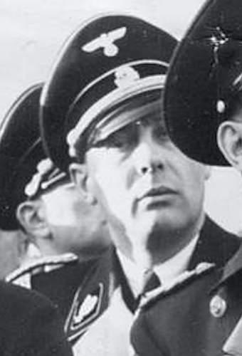 SS Officers Black Cap