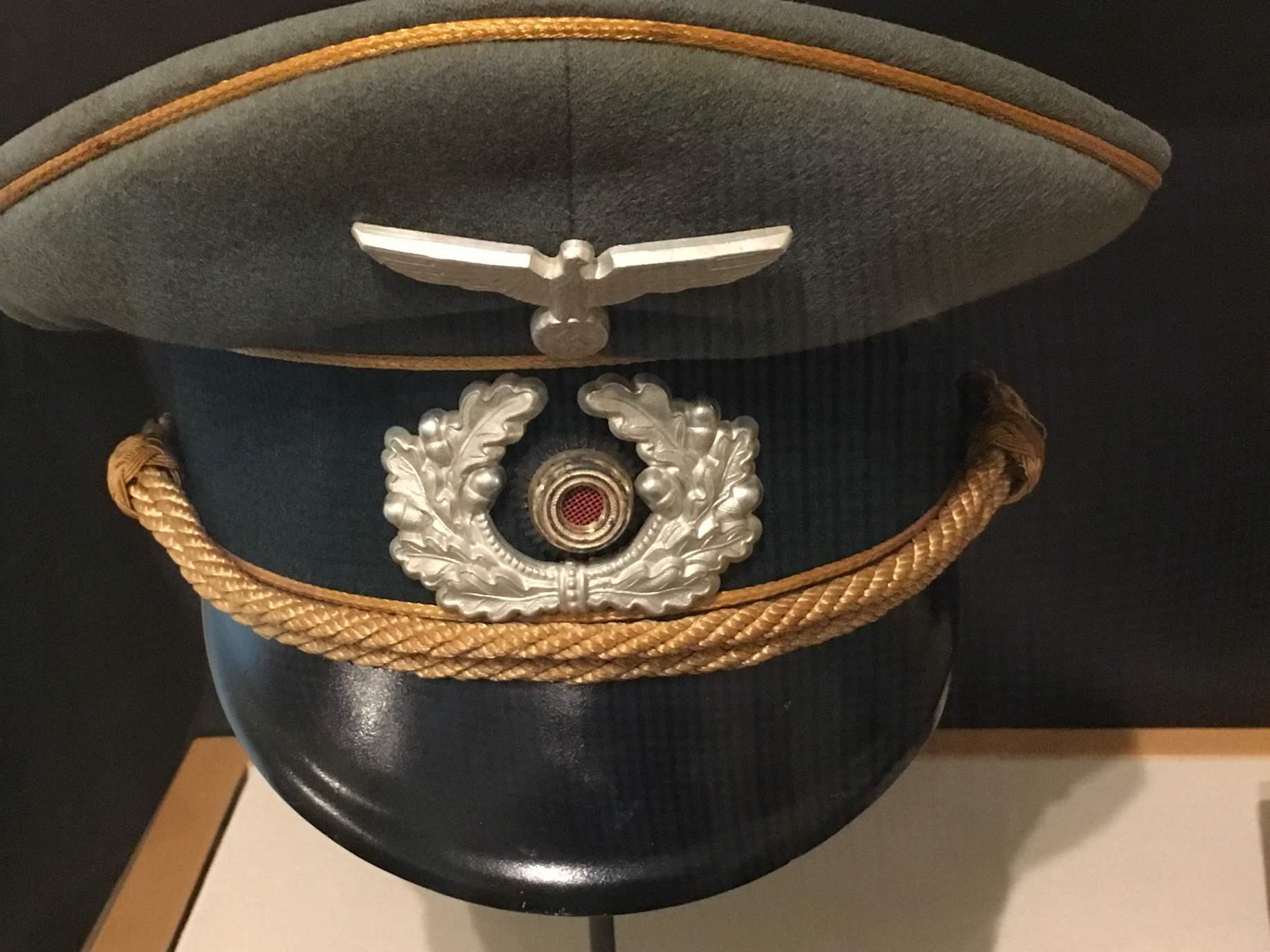 Actual General S Visor Cap Taken From Erwin Rommel Quot The