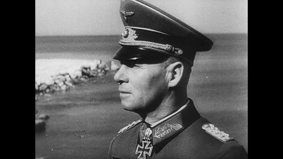 92ccfc4e4cc Actual General s Visor cap taken from Erwin Rommel