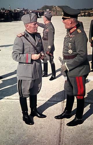 Click image for larger version.  Name:Generalfeldmarschall Keitel with interim baton, chatting with Il Duce.jpg Views:14 Size:218.0 KB ID:1046100
