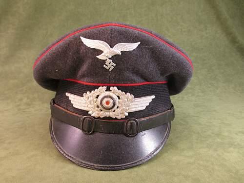 Luftwaffe NCO/EM visor cap