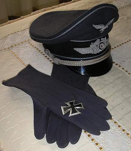 Luftwaffe erel cap 1943.