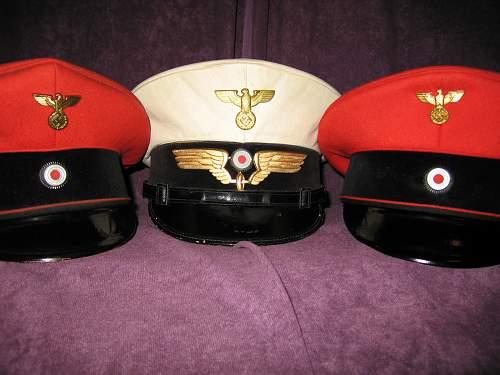 Railway(Reichsbahn)officals cap