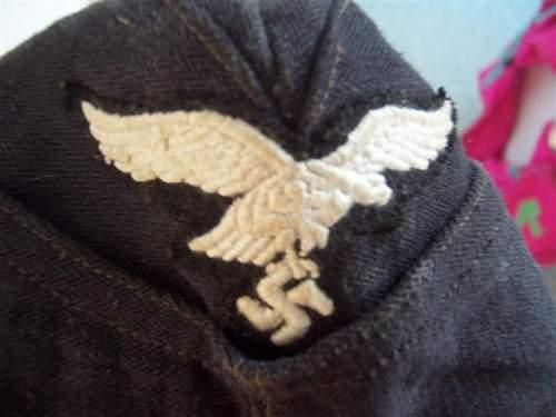 Luftwaffe Mechanics black fliegermutze