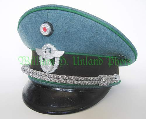 Polizei Headgear