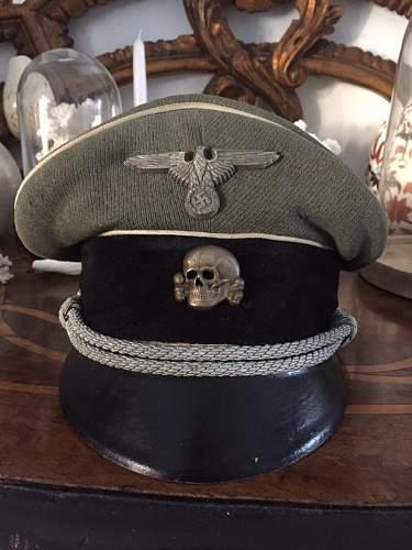 WaffenSS  officer visor